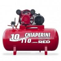 Compressor de  Ar Média pressão  Chiaperini  110L RED 10/110